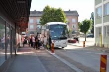 Körslaget team elisa Vissa åkte buss