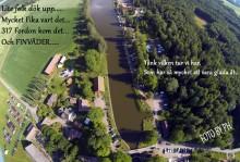 Hajstorp veteranbilsträff  Töreboda vid göta kanal