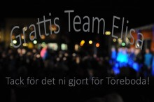 Team Elisa körslaget Töreboda